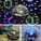 كرة الاضاءة الملونة للسهرات والحفلات